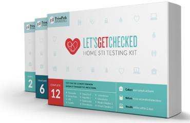 Lets Get Checked home sti testing kit