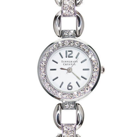 Tipperary Crystal Sky Era Silver Watch