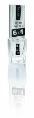 IsaDora Clear Nail Gel 6 in 1