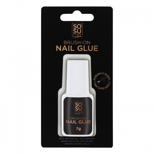 SOSU Brush On Nail Gel Glue