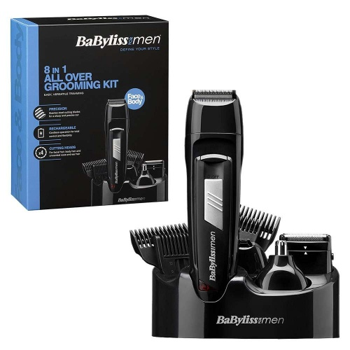 BaByliss for Men 8 in 1 All Over Grooming Kit