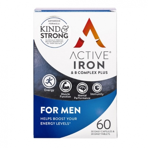 Active Iron & B Complex Plus for Men 60s