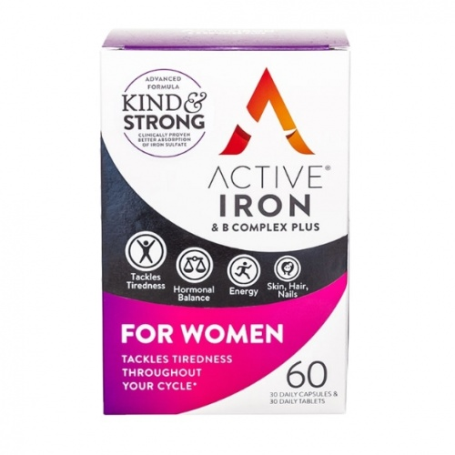 Active Iron & B Complex Plus for Women 60s