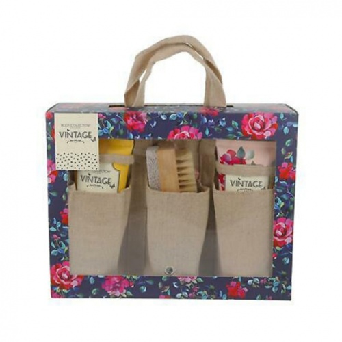 Body Collection Vintage Gardeners 4 Piece Gift Set