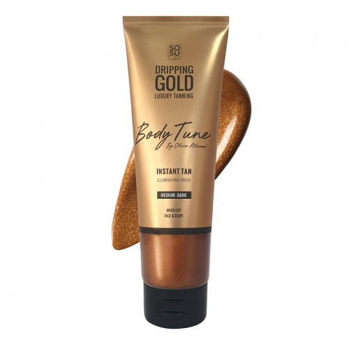 SOSU Dripping Gold Body Tune Instant Tan Shimmer