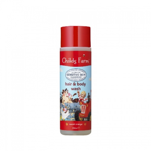 Childs Farm Hair and Body Wash with Organic Sweet Orange 250ml