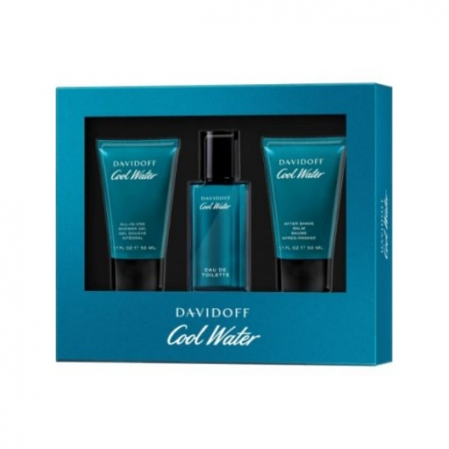 Davidoff Cool Water 40ml 3 Piece Gift Set For Him