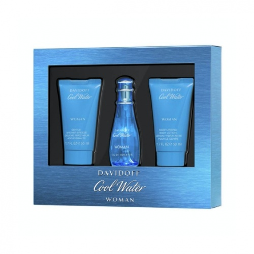 Davidoff Cool Water 3 Piece Gift Set For Her