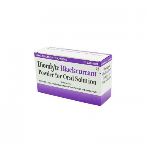 Dioralyte Blackcurrant - 20 Sachets