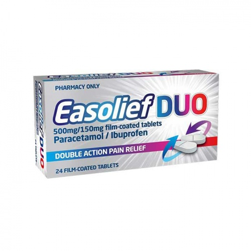 Easolief DUO500mg/150mg 24s
