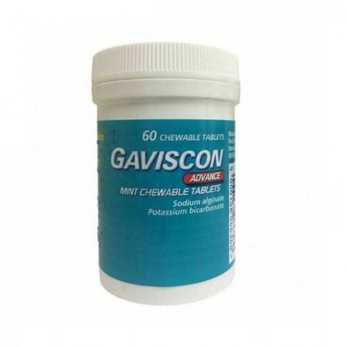 Gaviscon Advance Chewable Tablets 60s