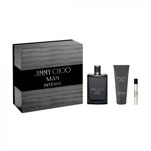 Jimmy Choo Man Intense 100ml 3 Piece Gift Set For Him