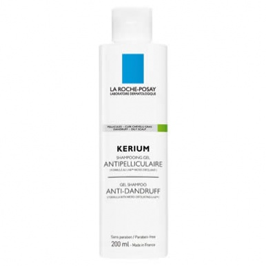 La Roche Posay Kerium Anti-dandruff Cream Shampoo 200ml (Oily Scalp)