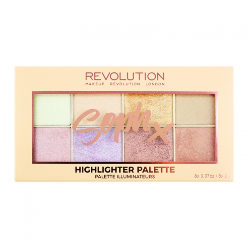 Makeup RevolutionXSoph Highlighter Palette