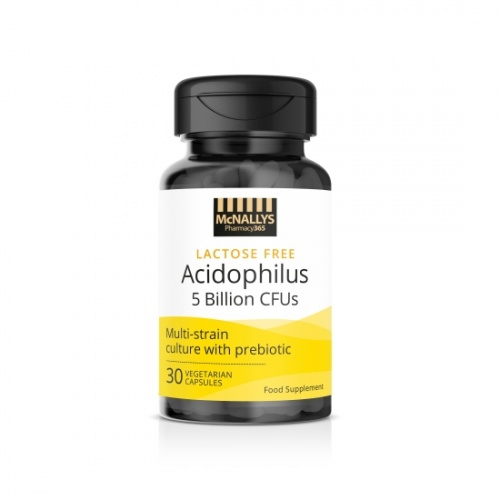 McNallys Acidophilus Probiotic 5 Billion Capsules 60s
