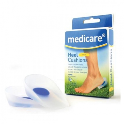 Medicare Male Heel Cushion (2 Pack)