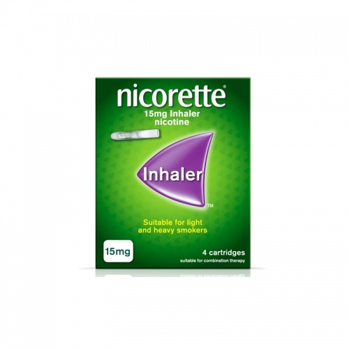 Nicorette 15mg Refill Inhaler 20 Cartridges