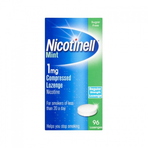 Nicotinell 1mg Mint Lozenge 96 Pack