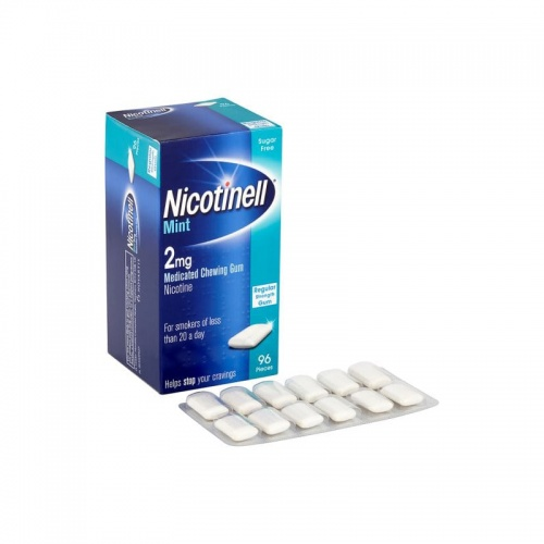 Nicotinell 2mg Cool Mint Gum 96 Pack