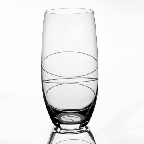 Tipperary Crystal Orbit Cut Set of 6 Hiball Glasses 470ml