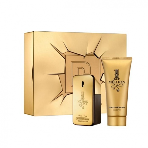 Paco Rabanne 1 Million 50ml 2 Piece Gift Set For Him