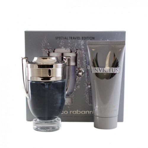 Paco Rabanne Invictus 100ml 2 Piece Gift Set For Him