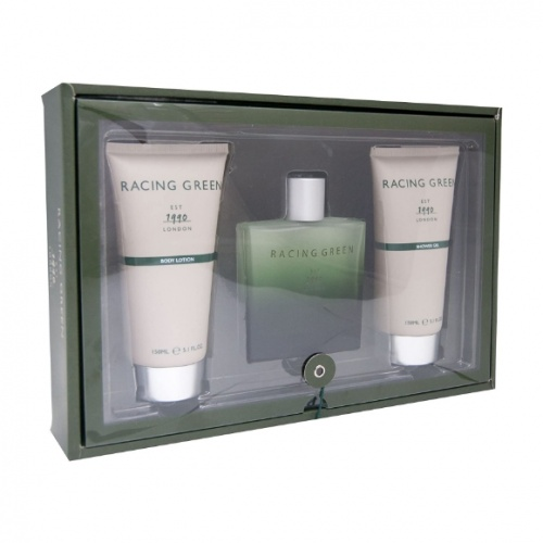 Racing Green 100ml 3 Piece Gift Set For Him
