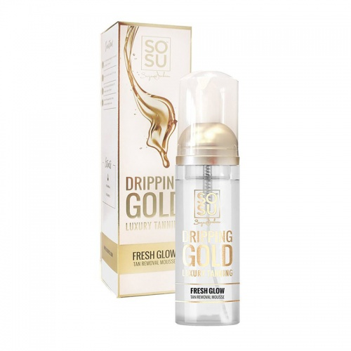 SOSU Dripping Gold Tan Remover Mousse