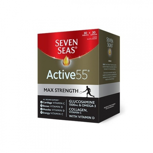 Seven Seas Active 55 Max Strength