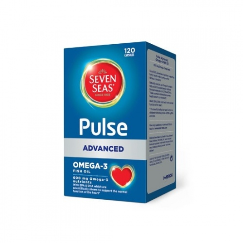 Seven Seas Pulse Advanced Omega-3 Pure Fish Oil Capsules 120s