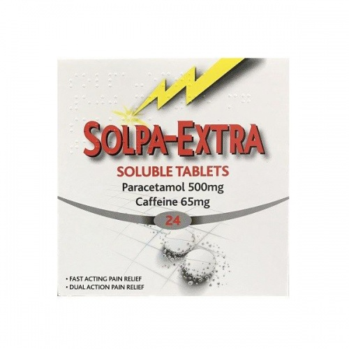 Solpa-Extra Soluble 500/65mg Tablets 24s