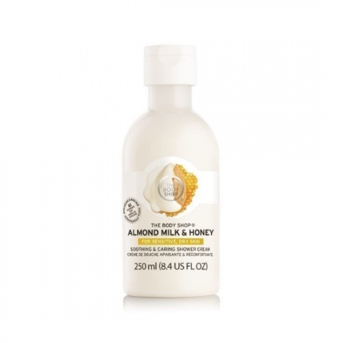 The Body Shop Almond Milk & Honey Shower Cream 250ml
