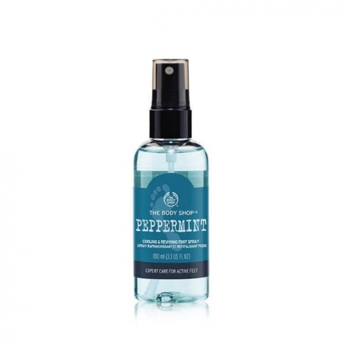 The Body Shop Peppermint Cooling & Reviving Foot Spray 100ml