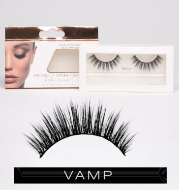 Flique Miracle Makeover Eye Lashes by Charlotte Crosby - Vamp
