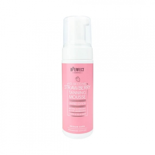 bPerfect 10 Second Tan Strawberry Mousse 150ml