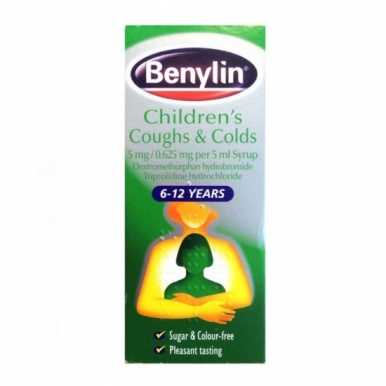 Benylin Children's Cough & Colds Syrup 125ml