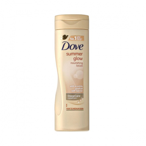 Dove Summer Glow Nourishing Lotion Fair to Medium 250ml