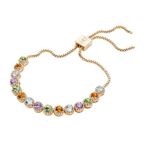 Tipperary Crystal French Riviera Bolo Bracelet