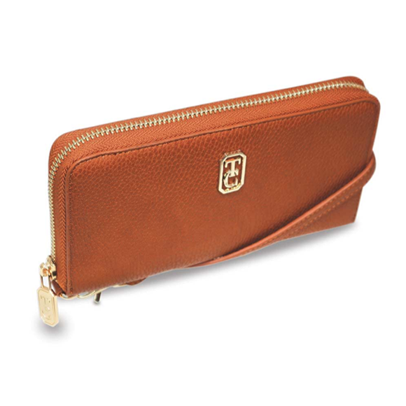 Tipperary Crystal Venice Tan Wallet