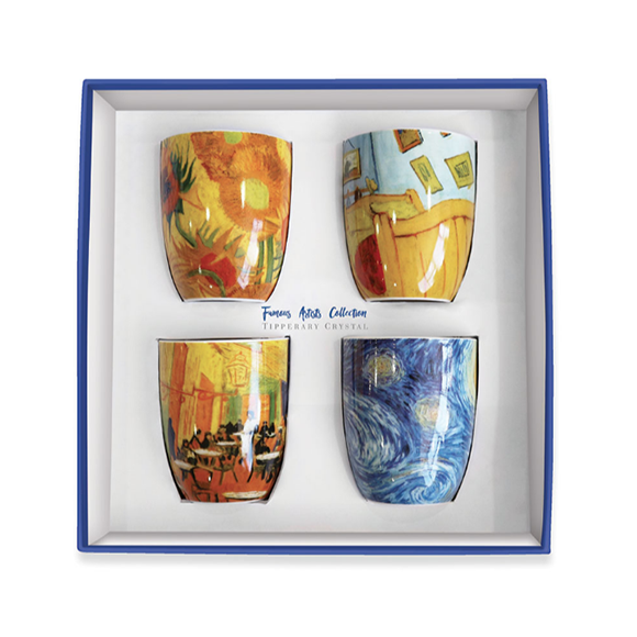 Tipperary Crystal Vincent Set Of 4 Mugs Party Pack