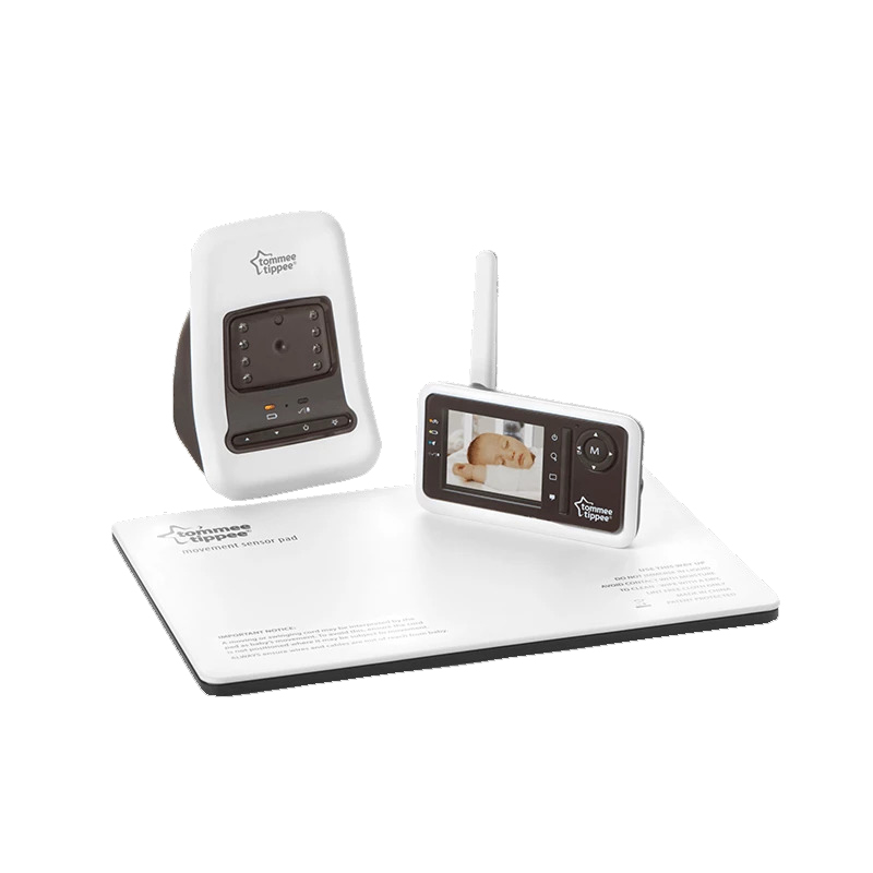 Tommee Tippee Closer To Nature Digital Video Monitor with Sensor Pad