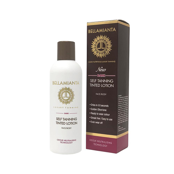 Bellamianta Dark Self-Tanning Tinted Lotion 200ml
