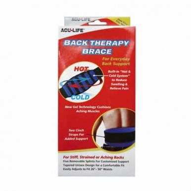Acu-Life Hot/Cold Back Therapy Brace