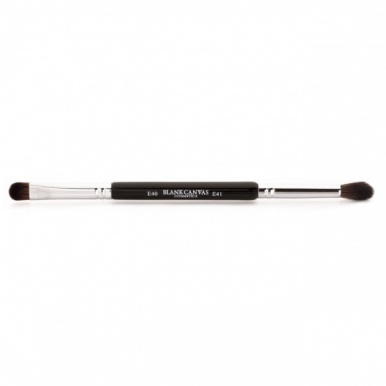 Blank Canvas E40/41 Double Ended Flat Smudger/Blending Eye Brush