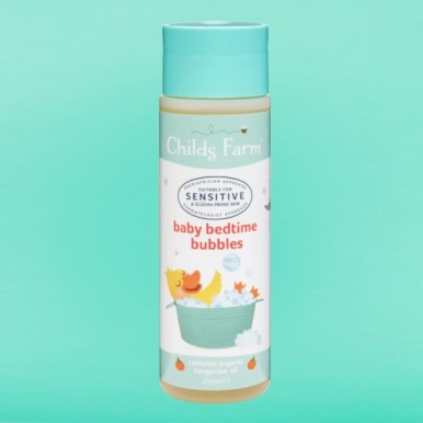 Childs Farm Baby Bedtime Bubbles With Organic Tangerine