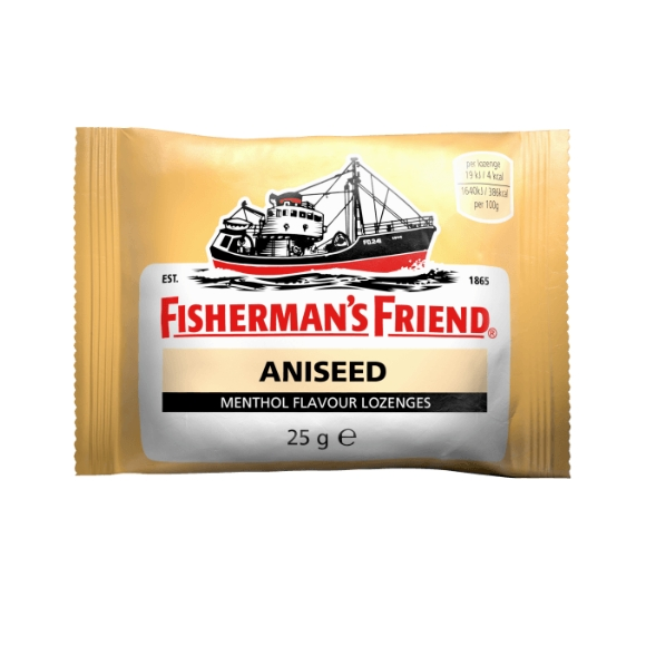 Fishermans Friend Cough Drops - Aniseed 25g