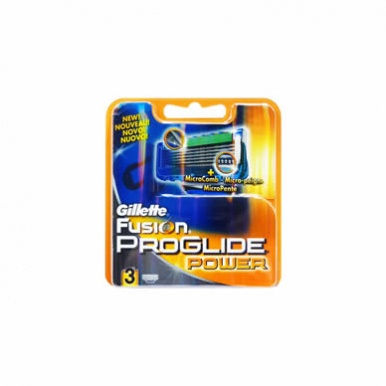 Gillette Fusion ProGlide Power Cartridges (4 pack)