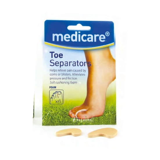 Medicare Assorted Foam Toe Separators (6 Pack)