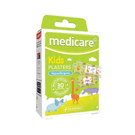 Medicare Kids Animal Plasters 30pk