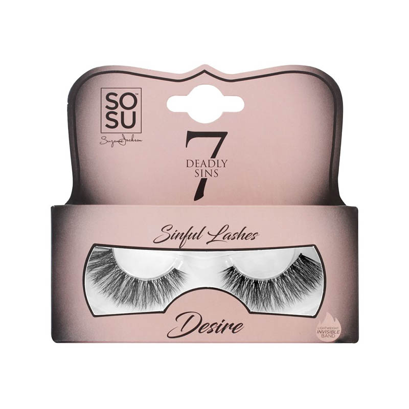 SOSU False Eye lashes 7 Deadly Sins - Desire